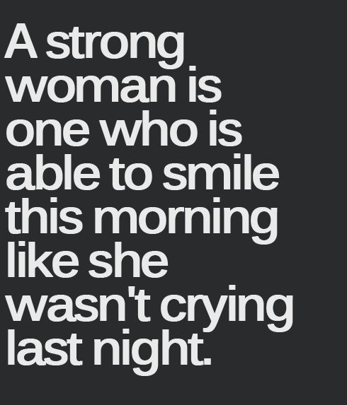 strong woman quote saying