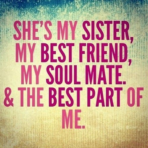 Sister Quotes Best Friend