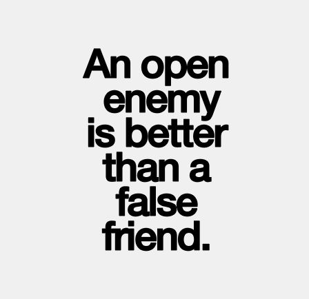 Fake friends quotes. False friend.