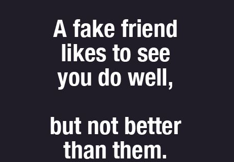 Quotes on fake friends