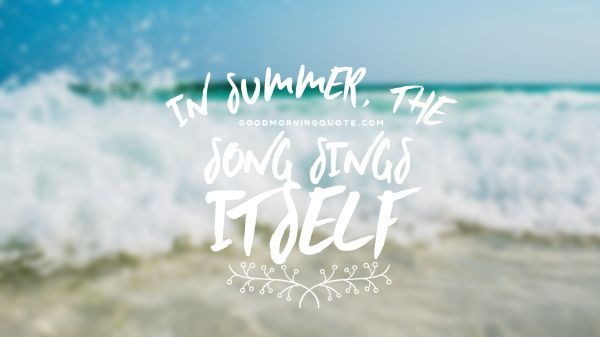 Summer And Music Quotes