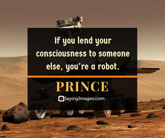 prince consciousness quotes