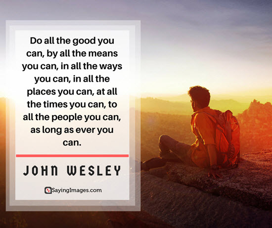 john wesley good quotes