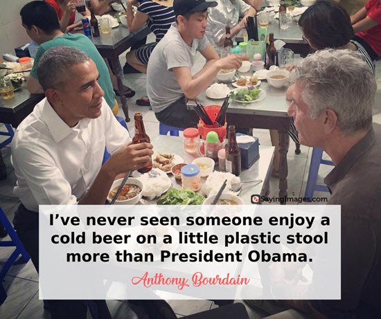 barrack obama anthony bourdain quotes