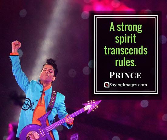 prince spirit quotes